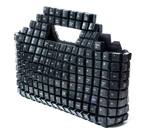 tas daur ulang Keyboard