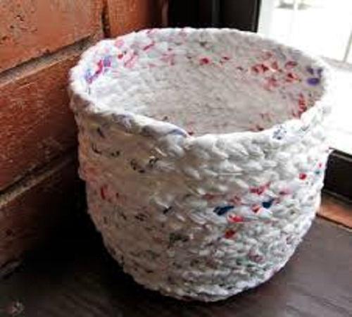 keranjang sampah dari plastik kresek