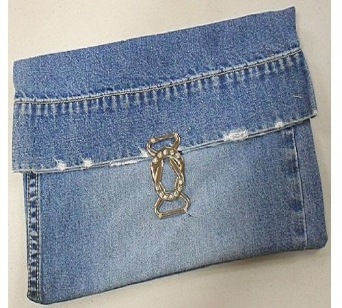 dompet jeans bekas