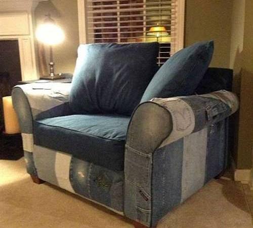 sofa jeans bekas