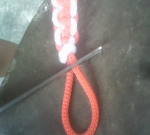 membuat sendiri gelang dari tali kur 6