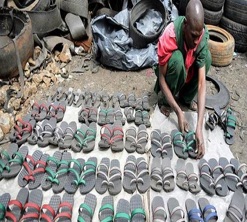 sandal ban bekas