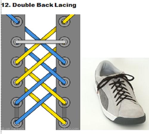 gaya mengikat tali sepatu 12