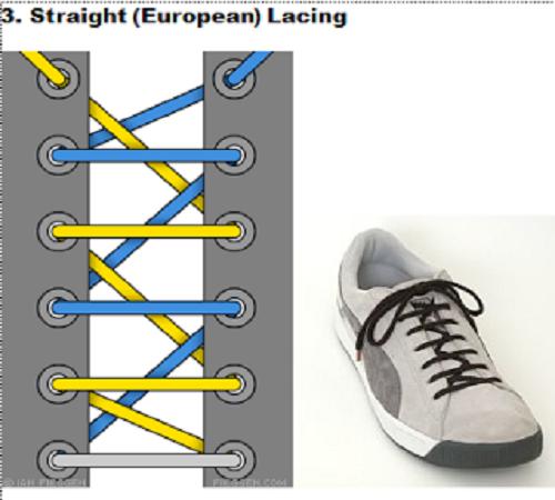 gaya mengikat tali sepatu 3