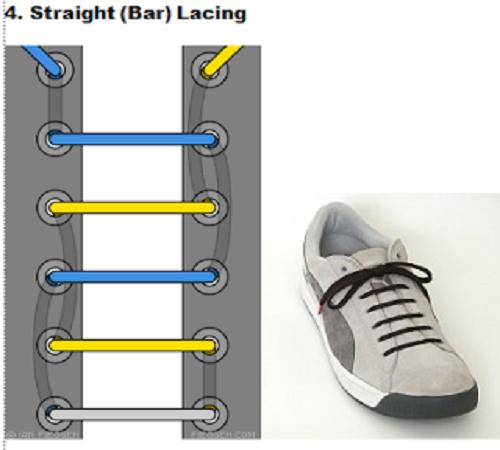 gaya mengikat tali sepatu 4