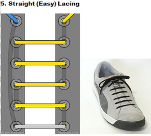 gaya mengikat tali sepatu 5