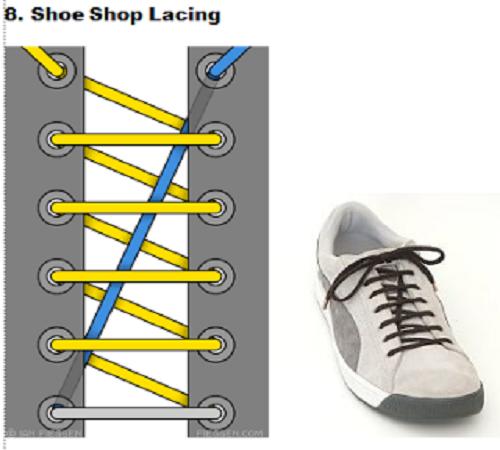 gaya mengikat tali sepatu 8