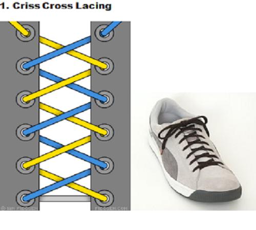 gaya mengikat tali sepatu 1