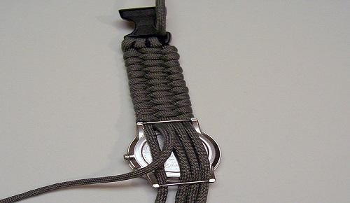 jam tangan dari tali paracord 4