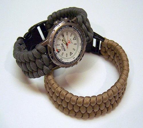 jam tangan tali paracord