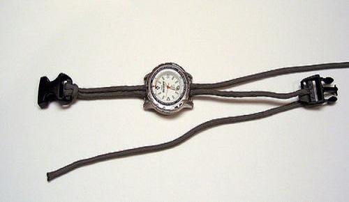 jam tangan tali paracord 1
