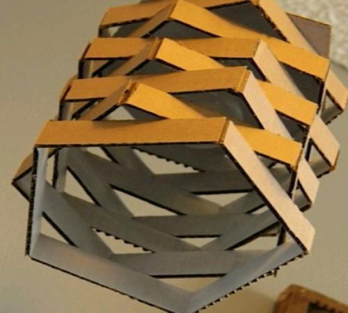 cara-membuat-lampu-hias-kardus-bekas