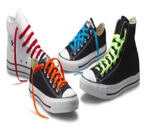 gaya mengikat tali sepatu