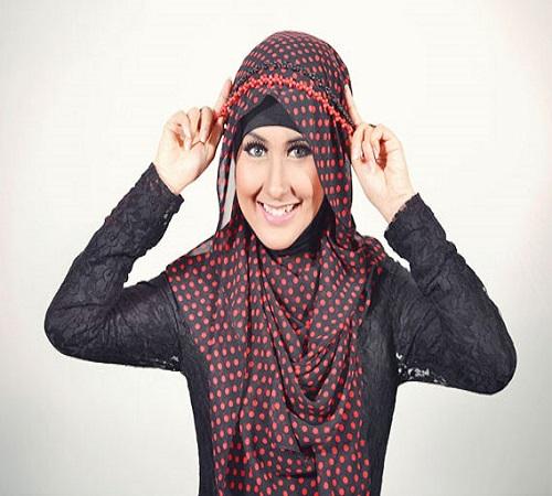 Aksesoris Jilbab Headband dari Manik-Manik