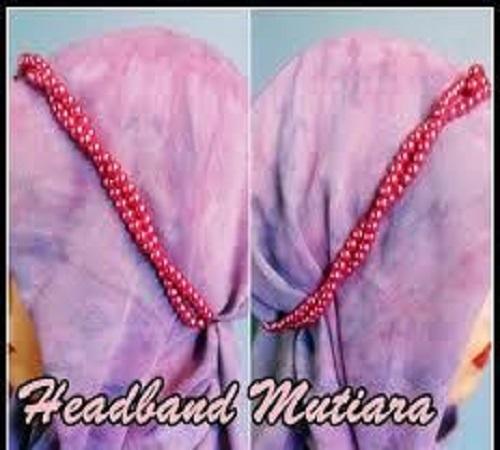 Headband Jilbab Simple dan Mudah dari Mutiara 1
