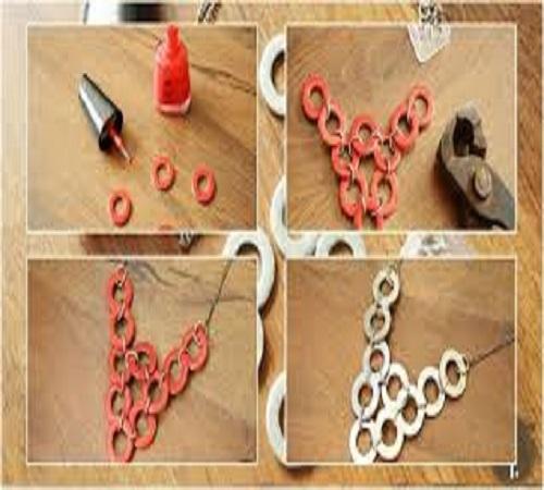 Membuat Kalung Unik dari Besi Sambungan Pipa