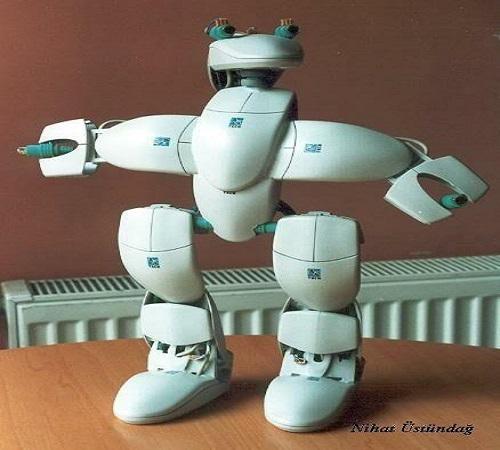 daur ulang mouse bekas menjadi robot