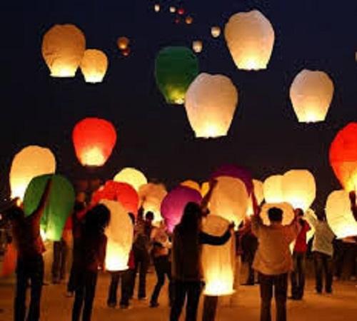 Tutorial Cara Membuat Lampion Terbang dari Kertas Minyak ...