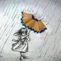 payung dari serutan pensil