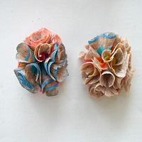serutan pensil bentuk bunga