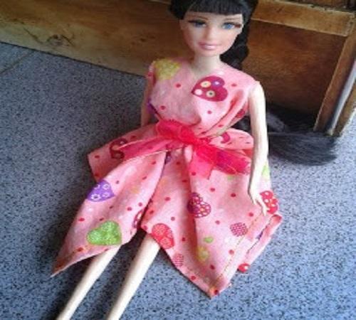 Cara Mudah Membuat Baju Barbie Sendiri