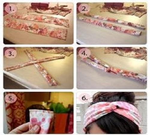 Cara Praktis Membuat Hairband dalam 10 Menit 1