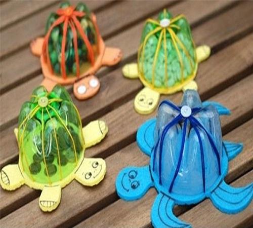 Membuat Mainan Anak Bentuk Kura Kura Dari Botol Bekas Zona Kreatif