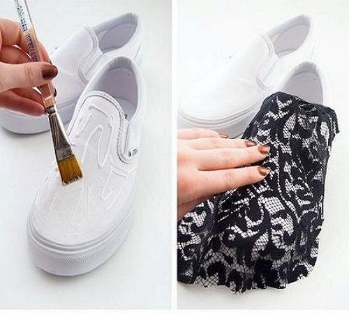 Warnai Sepatu Polosmu Agar Tampil Menarik 1