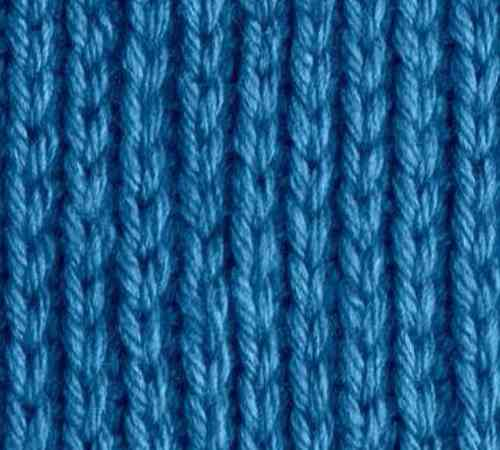 Contoh motif rajutan single rib knit