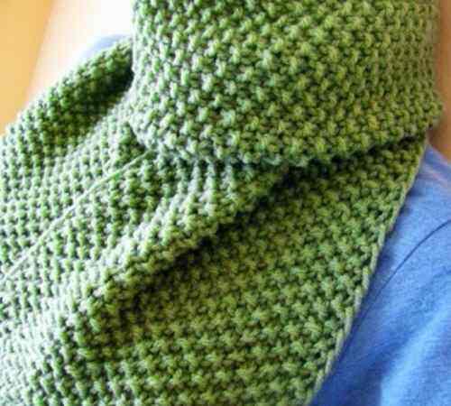 Cara Membuat Rajutan Seed Stitch dan Moss Stitch