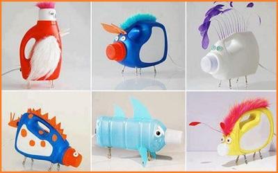 tutorial daur ulang botol bekas jadi mainan anak-anak